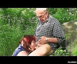 Granny and Grandpa fuck..