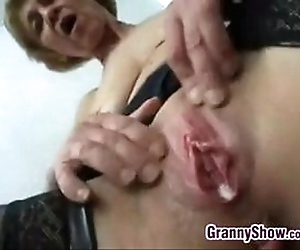 Dirty Grandma Fucking..