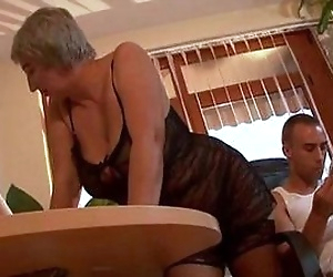 Busty granny wants..