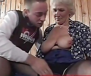 Grandma eager for..
