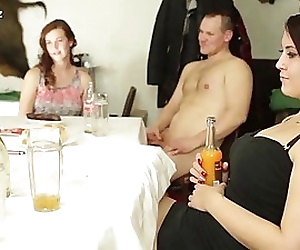 Awesome orgy with young..