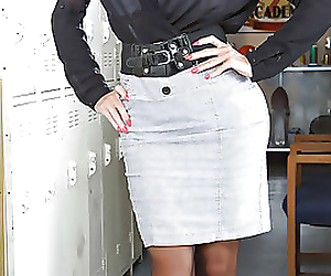 Hot and busty teacher..