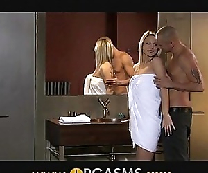 ORGASMS Sexy blonde has..