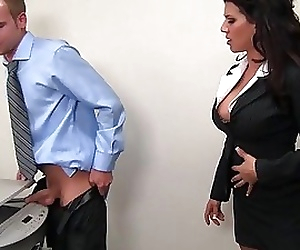 leena sky fucks at the..