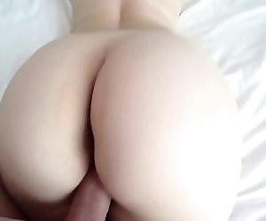 White girl with big ass..