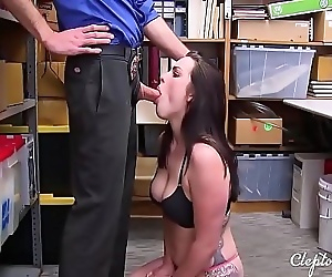 Old Jailer fucks Teen..