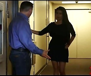Brunette Girl Fucked On..