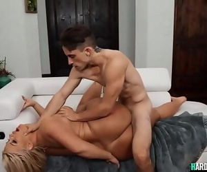 Young man fuck huge..