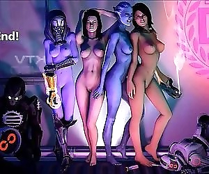 Mass Effect Girls Sexy..
